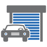 Garage Motor Security Installation Icon